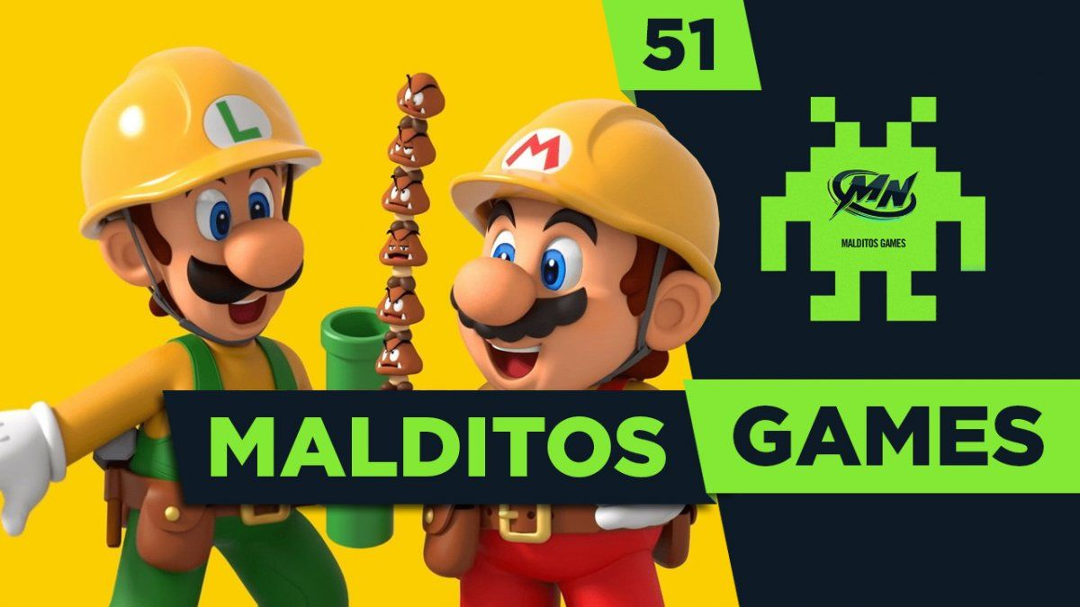Malditos Games 51: Super Mario Maker 2 / Bloodstained/ Blood & Truth