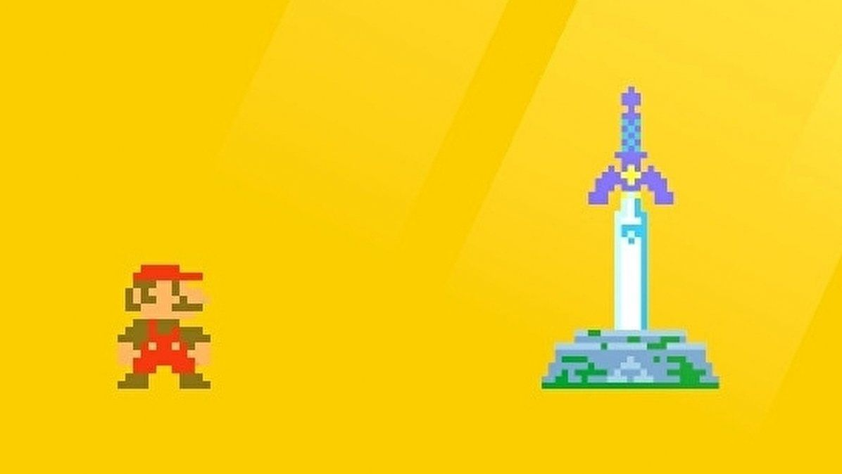 Link de The Legend of Zelda se suma a Super Mario Maker 2