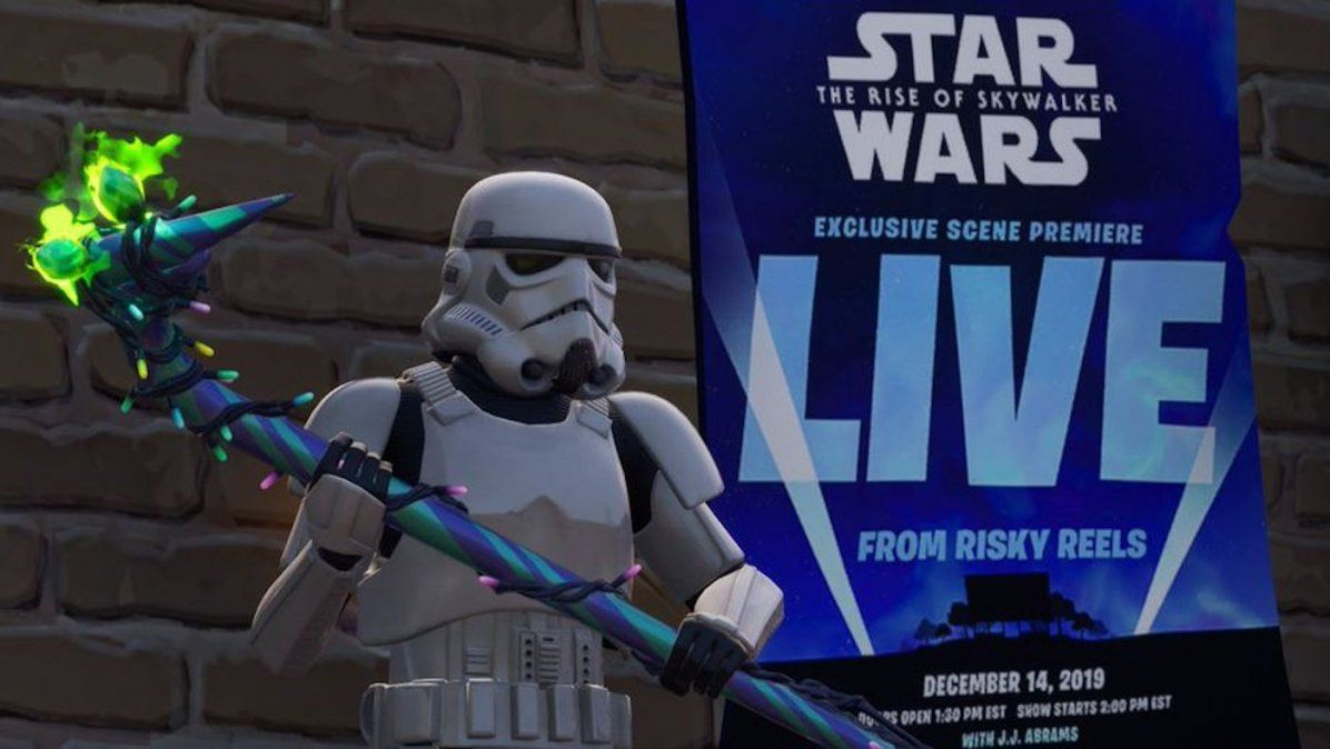 Star Wars estrena una escena de Episodio IX exclusivamente en Fortnite