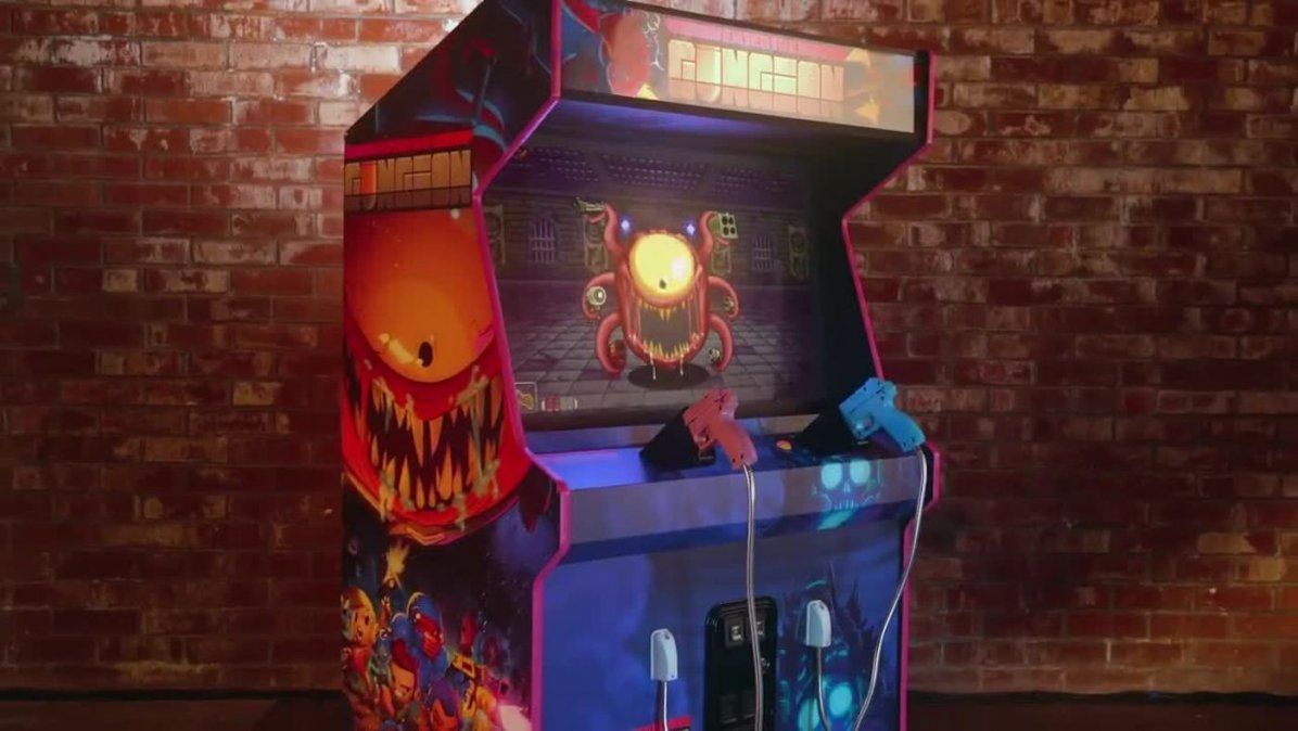 House of the Gundead es el arcade de la serie Enter the Gungeon