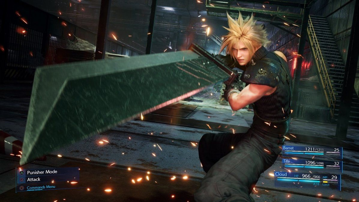 Ya está disponible la demo de Final Fantasy VII en PlayStation 4