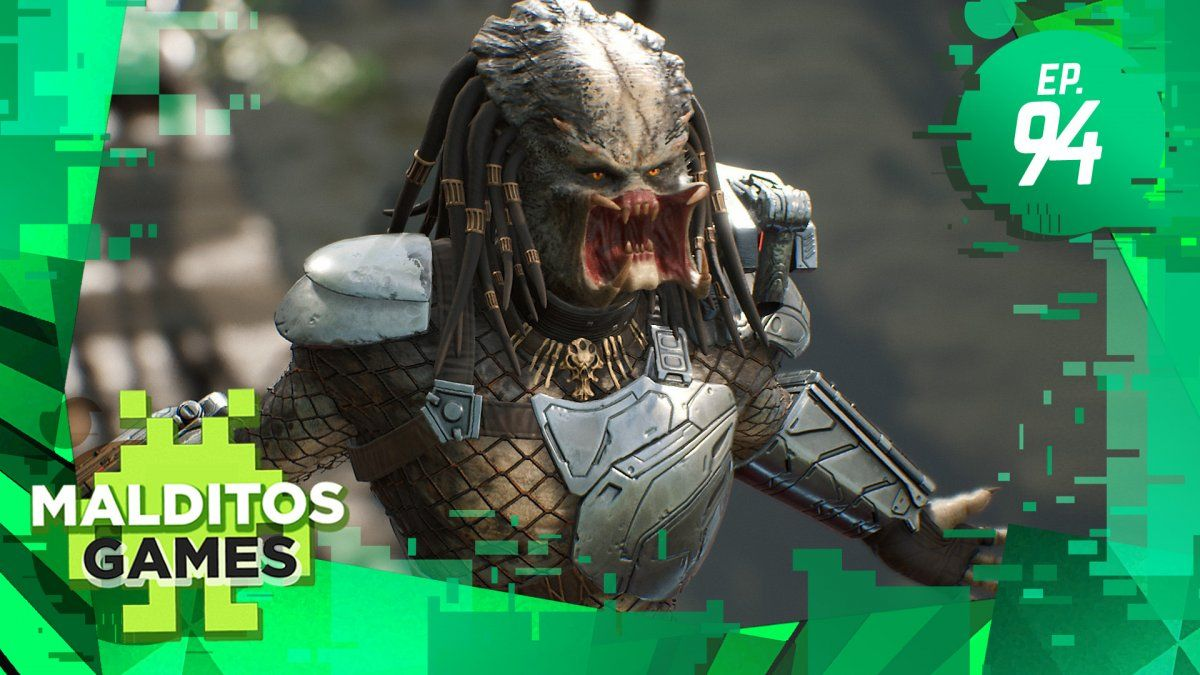 Malditos Games 94: Predator: Hunting Grounds