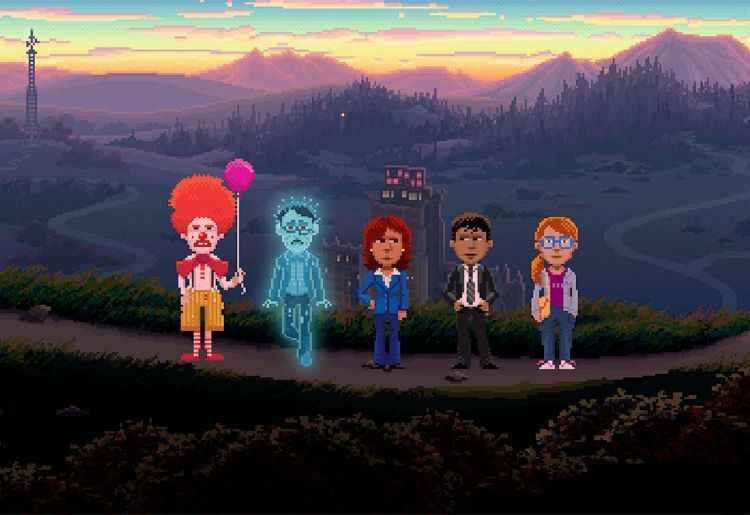 Thimbleweed Park (Terrible Toybox, 2017, PC, PS4, Xbox One, Switch, Android, iOS)