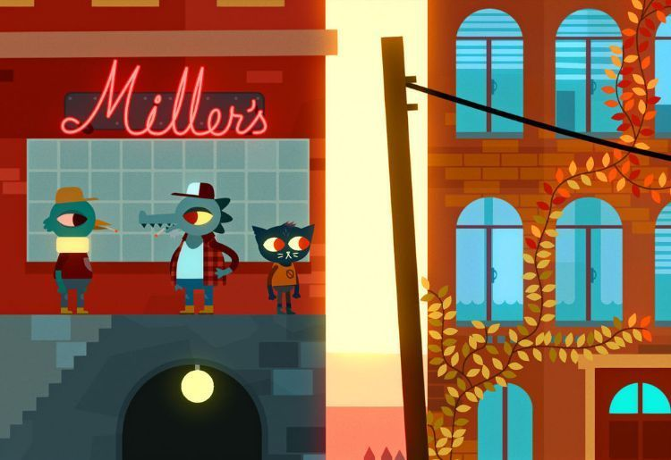 Night in The Woods: Weird Autumn (Infinite Fall, Secret Lab, 2017, PC, iOS, Android, PS4, Xbox One, Switch)