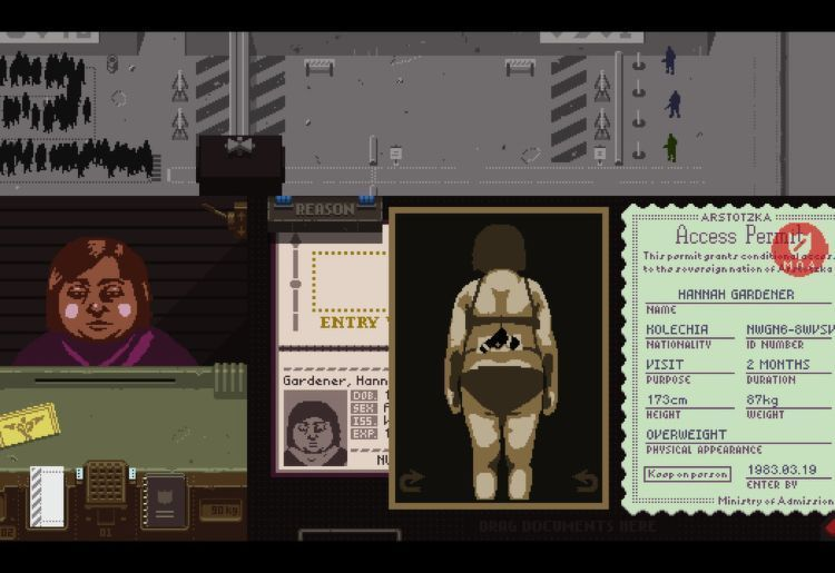 Papers Please (Lucas Pope, 2013-2017, PC, iOS, PS Vita)