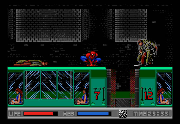 The Amazing Spider-Man vs. The Kingpin (1993) (Sega CD)