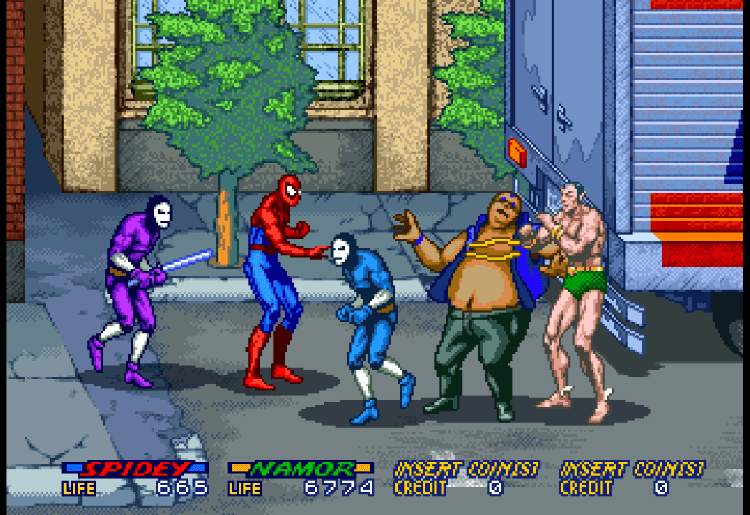 Spider-Man: The Video Game (1991) (Arcade)