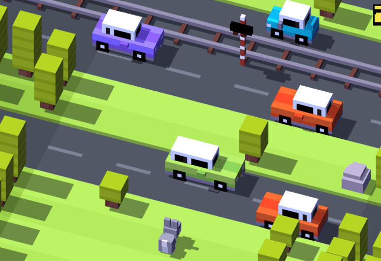 Crossy Road (Hipster Whale, 2014, Android, iOS, Windows Phone)
