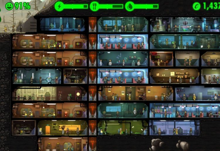 Fallout Shelter (Bethesda, 2015, PC, Android, iOS)