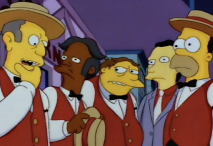 Los Borbotones (The Simpsons)