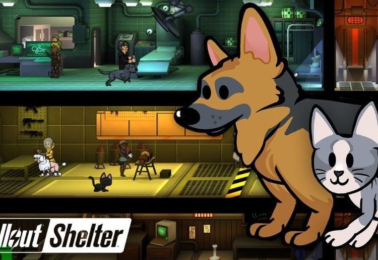 Fallout Shelter (Bethesda Games Studios, 2015, iOS, Android)