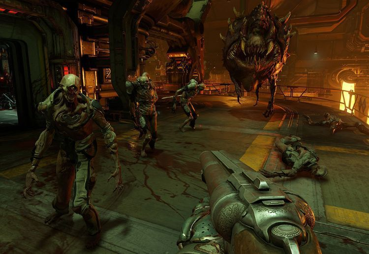 Doom (id Software, PlayStation 4, Xbox One, PC)