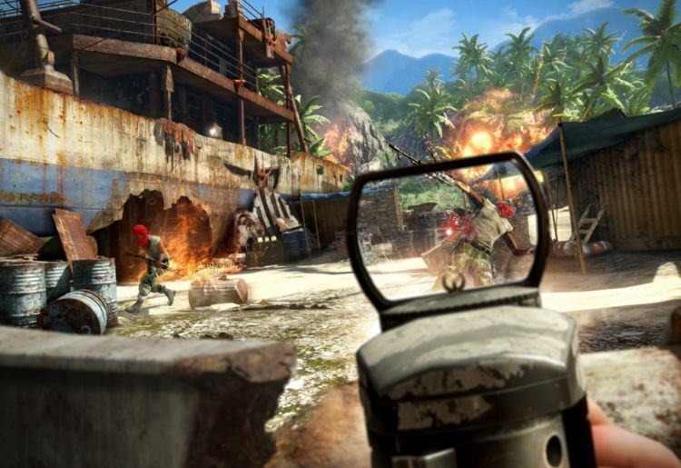 7. Far Cry 3 (Ubisoft Montreal, 2012, PC, PlayStation 3, Xbox 360)