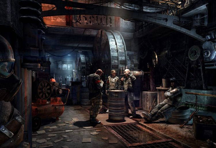 6. Metro Last Light (4A Games, 2013, PC, PlayStation 3, Xbox 360)