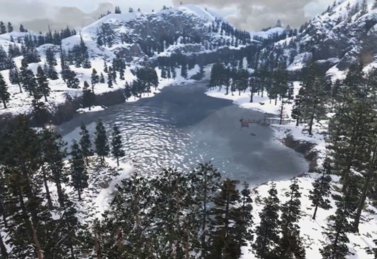 5. Tall Trees - Red Dead Redemption