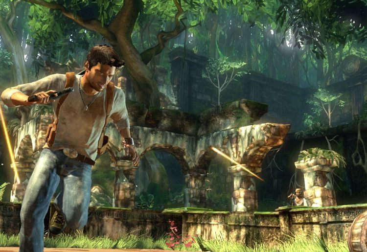 5. UNCHARTED: DRAKE'S FORTUNE