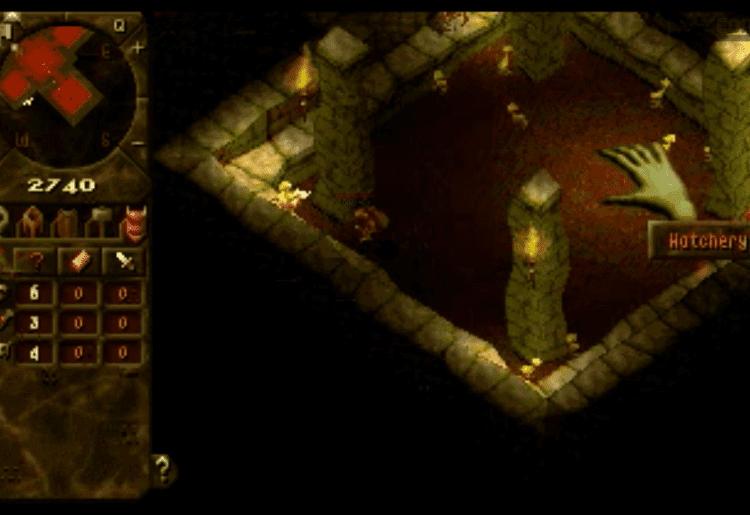 $39. Dungeon Keeper (Bullfrog, 1997)
