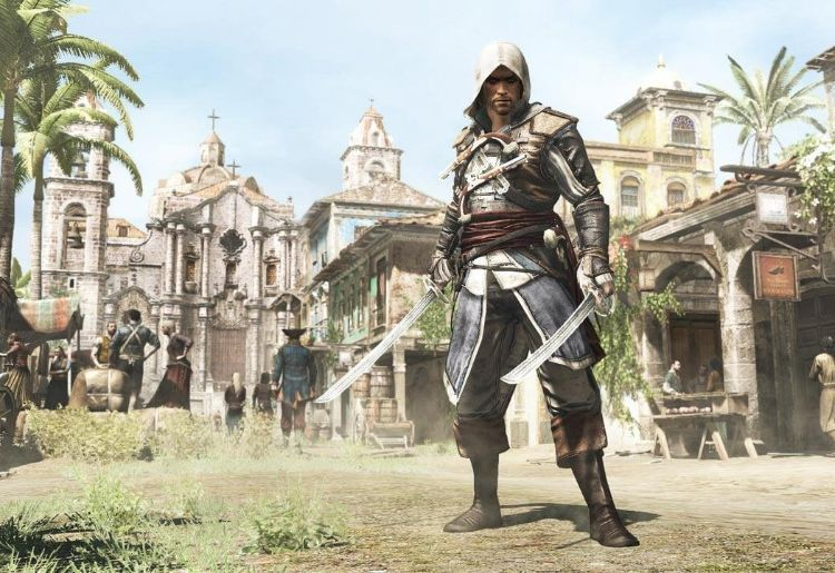 27. Assassin's Creed IV: Black Flag (Ubisoft Montreal, 2013)