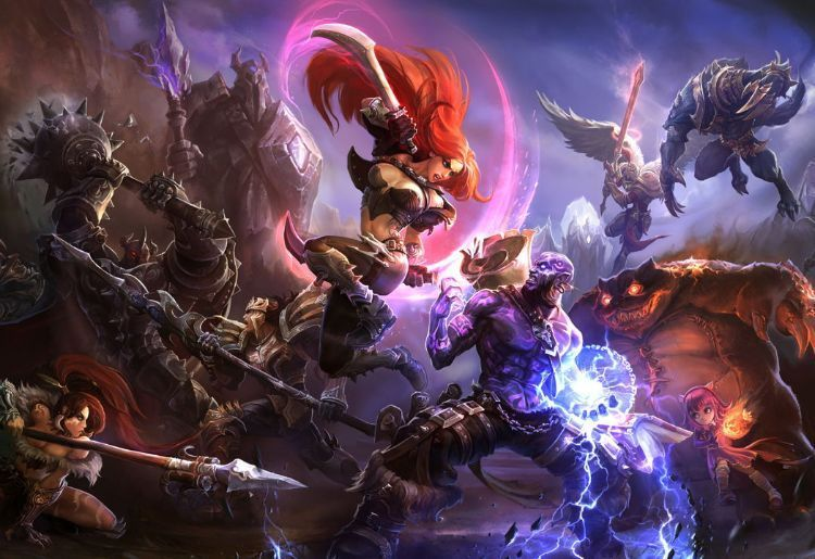 $26. League of Legends (Riot Games, 2009)
