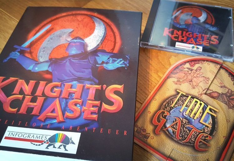 Time Gate: Knight's Chase (Infogrames, 1996, PC)