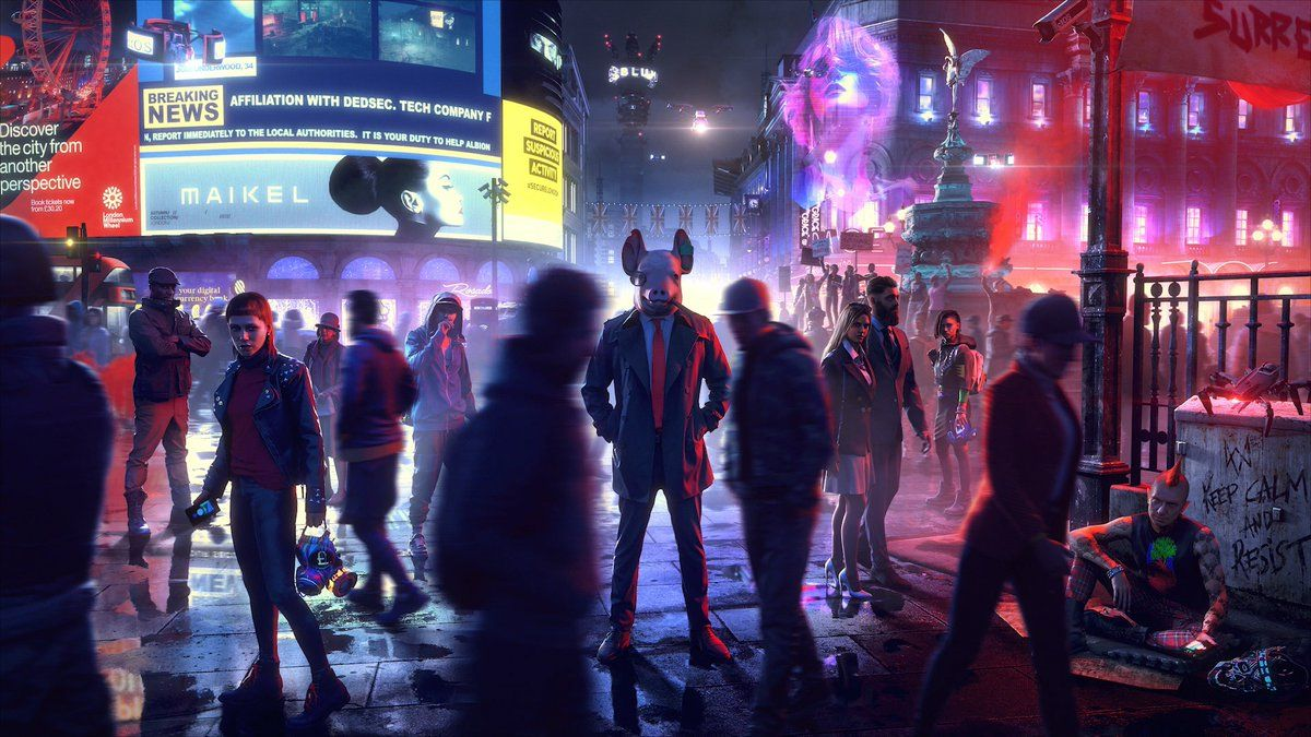 Watch Dogs Legion tendrá modo multijugador