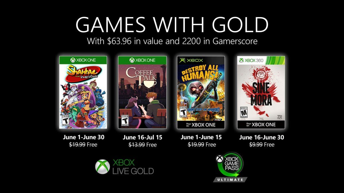 Shantae y Coffee Talk, lo más destacado de Games with Gold